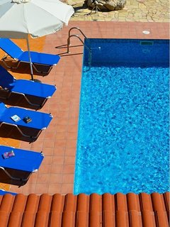Swimming pool from top balcony
