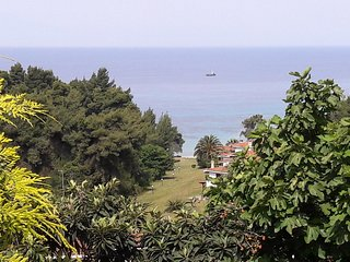 House in Elani, Halkidiki with beautiful sea view