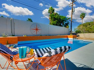 Vintage 3 bedroom home with pool close to all the action.