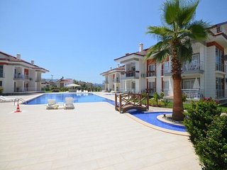 3 Bedroom Apartment With Large Pool For Rent in Calis