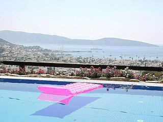 Bodrum Sea View Mansion With Swimming Pool # 604