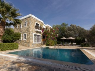 Bodrum Gumusluk Villa With Garden And Private Swimming Pool # 769