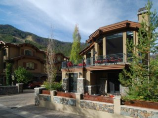 Luxury five-bedroom residence steps from Sun Valley lifts