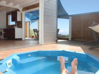 TERRATHELY *****, vue mer, piscine privative, Le Moule