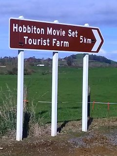 Hobbiton is so close. just 2.5 kms up the road from our BnB. Join a tour at a time that suits you.