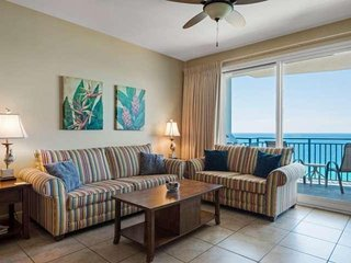 Gulf Front 3 Bdrm/3ba 15th Floor Minutes from Pier Park with Free Fun and Wifi