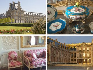 4 days to discover decorative styles from Louis XIV to Louis XVI