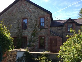 Lovely Farmhouse in peaceful position and surrounded by gardens near Narberth