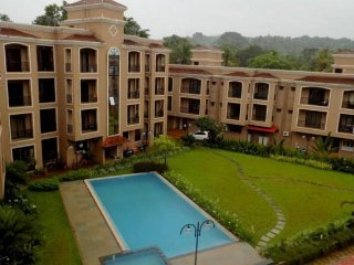 Poolside 1 BHK apartment for close friends