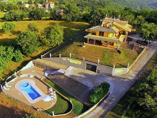 Il Giglio 12 - Villa with pool and jacuzzi in a panoramic position near Bolsena lake
