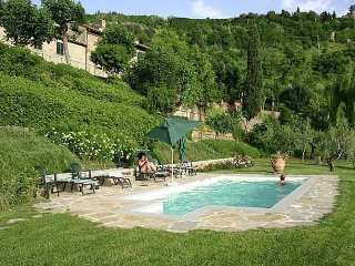 Villa Falco - A unique location in the beautiful Tuscan city of Cortona.