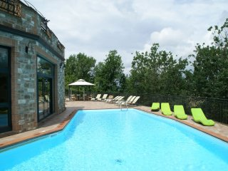 Villa Pianelli - Panoramic villa for 20 people with indoor and outdoor pool