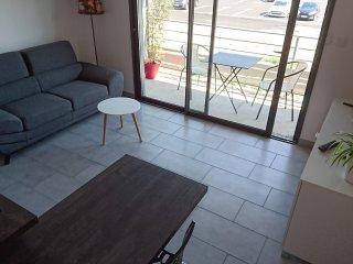 T2 meublé, indépendant tout confort avec balcon expo Sud et garage - 2 couchages