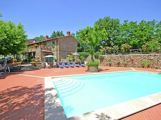 Villa Martina - Characteristic villa with private pool near Cortona, beautiful