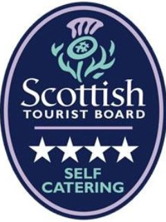 The Scottish Tourist Board (VisitScotland) have awarded us 4 stars
