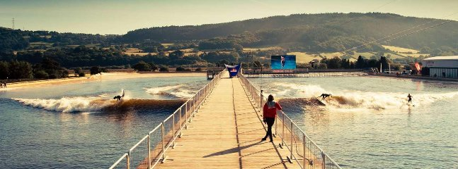 Surf Snowdonia, cool surf venue in the middle of the nearby mountains
