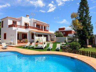 5 bedroom Villa in Ibiza Town, Sa Carroca, Baleares, Ibiza : ref 2385326