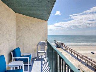 8th Floor Ocean, Sunglow & Intracoastal Waterways Views! Heated Pool-BluRay