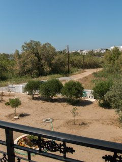 Master Bedroom Balcony View Olive and Fig Trees