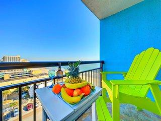 WOWTop Oceanfront Resort/Wonderful Ocean Views/Updated/Netflix/Xbox1/2tvs/3 beds