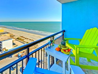 WOWTop Oceanfront Resort/Wonderful Ocean Views/Updated/Netflix/Xbox1/2tvs/3 beds