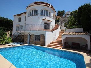 El Atarceder-6 - sea view villa with private pool in Benissa