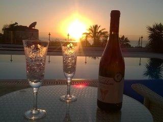 Luxury sea view villa in wonderful St Georges area of Paphos.