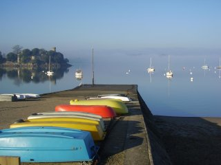 Winter break, cosy eco-cottage, woodburner, walks, beaches, St Malo, Dinan