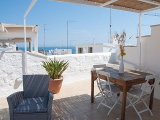 Trinchettina - independent house on 3 levels with terrace sea view