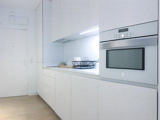 Lujoso apartamento en Calle mayor. WiFi+aparcamiento+aire frío y calor.
