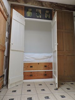 Cabin Bed on the landing.