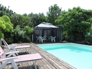 La Fermette and Summerhouse; the farmhouse sleeps 6 and the Summerhouse 2