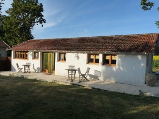 Holiday cottage in secluded plum orchard