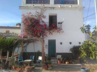 Town house in mountain village overlooking the Mediterranean sea. 5 minute drive