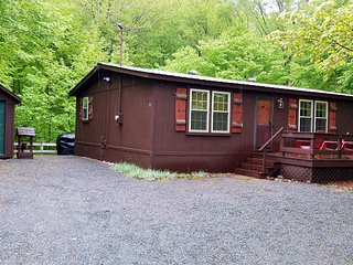 3 min to Downtown Old Forge! Lake Access! Can rent w/adjacent home for 16.Trail4