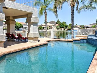 NEW! Lakefront 4BR Glendale House w/ Private Pool!