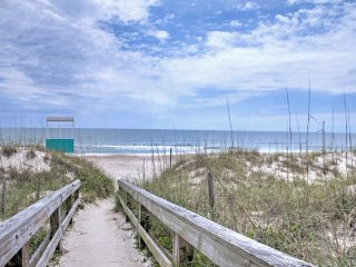 NEW! 2BR Carolina Beach Condo - Walk to Beach!