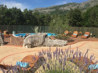 Villa Antiq Dubrovnik area with pool and BBQ