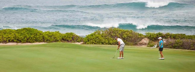 Turtle Bay Golf – Play a round of golf either at the 18-hole Arnold Palmer Course or the George Fazio Course. (about...