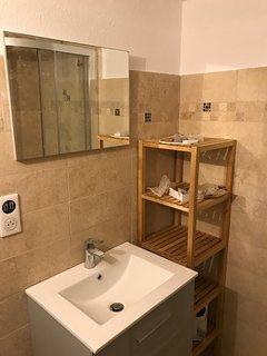 Ensuite lower shower room
