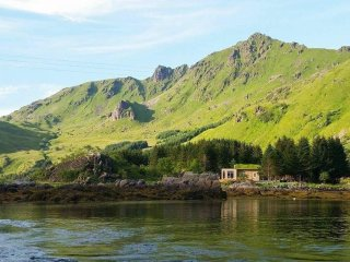 Luxurious Seaview lodge in Middle of Lofoten