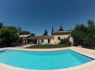 Spacious villa with pool and garden