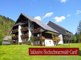 Studio B3 für 2 Gäste im Haus Albmatte St. Blasien-Menzenschwand Schwarzwald