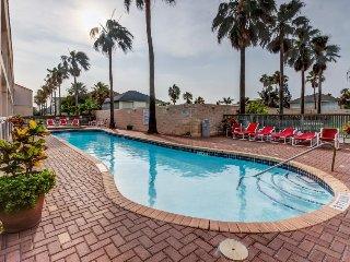 Spacious, Gulf-facing home w/ shared pool, hot tub, balcony - walk to beach