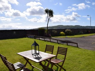 Scalpsie bay has gorgeous sea views from bedroom and living room. It sleeps 5 people