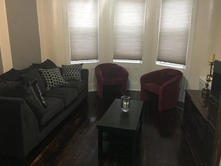 Cozy private apt w/ lvg rm, dining rm, 2 bed rooms, kitchen, bathroom and office