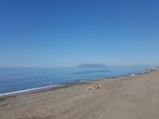 Casa  a 150 m de la playa en la Costa del Sol. A 15 min de Malaga