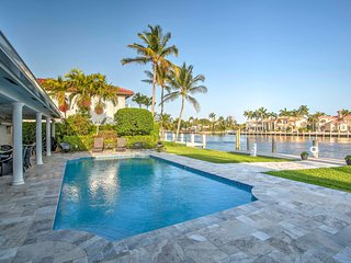 NEW! Waterfront 4BR Fort Lauderdale House w/ Dock!