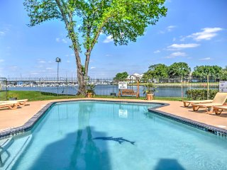 NEW! Lakeside 1BR Montgomery Condo w/Water Views!