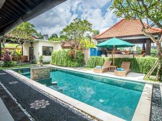 Romantic villa 2 BR in Padonan Village Canggu